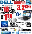 5 Stars - Dell Latitude I5 Laptop 🚩1tb Sshd 🚩16gb Ram 🚩wifi 🚩hdmi 🚩win 7 10