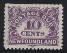 MOTON114     MR7 Postage Due Newfoundland Canada mint never hinged