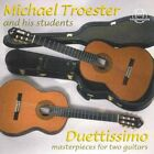 Troster, Michael & His Stud...-Duettissimo; Wks For Two Guita CD NEW