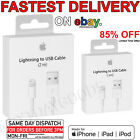 APPLE ORIGINAL GENUINE Lightning USB Data Charger Cable iPhone 6 6S 7 Plus 5