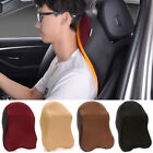 Car Seat Headrest Pad Memory Foam Pillow Head Neck Rest Support Travel Cushion