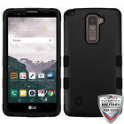 For LG G Stylo 2 Plus MS550 TUFF High Impact Hybrid Phone Protector Case Cover