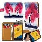 Leather Smart Stand Wallet Case Cover For Various Motorola RAZR/DROID SmartPhone