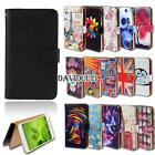 Leather Smart Stand Wallet Case Cover For Various Huawei Ascend SmartPhones