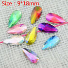 20-60Pcs 9*18mm Pear Acrylic Rhinestone Craft/Clothes Decoration Handmade Diy