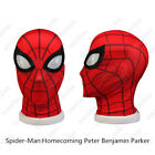 Spiderman Cosplay Peter Parker Eyemask Full Face 3D Helmet Accessories Props
