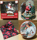 Coca-Cola Advertising Merchandise christmas figurine tin collectible ornament $8.99  on eBay
