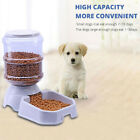 3.8L Automatic Pet Feeder Dog Cat Drinking Bowl Large Water Food Holder Newly