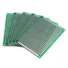 Great Double Side 5x7cm Printed Circuit PCB Vero Prototyping Track Strip Board