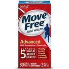 Move Free Advanced,  80 tablets - Joint Health Supplement with Glucosamine and...