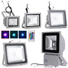 LED RGB Floodlight 10W 20W 30W 50W 100W Security Lamp Landscape Indoor Outdoor