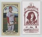 2011 Topps Gypsy Queen Mini Red Back #245 Hank Conger Los Angeles Angels RC Card