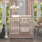 Design Lux Love Crib Bedding Blanket Set Dust Ruffle Lace Sheet Craddle Baby Gif