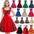 Kyпить Damen Vintage 50er Rockabilly Party Petticoat Ballkleider Abendkleid Frauenkleid на еВаy.соm
