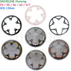 DRIVELINE Bike Bicycle Chainring 53/55/56/60/61T 7075-CNC for BCD:130MM crankset
