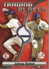 2006 Topps Trading Places Relics #JD Johnny Damon Jsy B - NM-MT