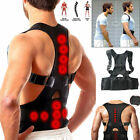 Kyпить Men Women Adjustable Magnetic Posture Corrector Back Shoulder Support Brace Belt на еВаy.соm