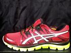 ASICS GEL-BLUR33 2.0 T2H3N 2501 Red/Lime RARE 11.5