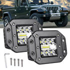 78W Offroad Car Auto Fog Lamp Flush Mount Rear Bumper Spot Flood Led Work Light