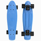 "22"" Skateboard Mini Cruiser Penny Style Board Plastic Deck 5 Colors"