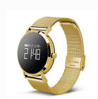 Bluetooth Smart Watch With Sleep Tracker Heart Rate Monitor Android Connectivity