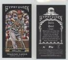 2011 Topps Gypsy Queen Mini Black Border #333 Travis Wood Cincinnati Reds Card