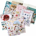 45 Pcs/lot Japanese Traveller Kawaii Label Stickers DIY Scrapbooking Stationery