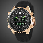 INFANTRY MENS DIGITAL ANALOG WRIST WATCHES DUAL TIME SPORT ARMY FASHION RUBBER image