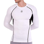 ARMEDES Mens Skin Compression Baselayer Activewear Mesh Long SleeveShirt R142 CA