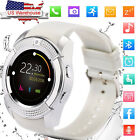Women Lady Smart Watch Digital Bluetooth Phone Camera for Huawei Samsung iphone