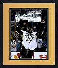 Framed Justin Schultz Pittsburgh Penguin 2016 SC Champ Signed 16x20 Photo & Insc