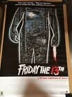 Friday the 13th Movie Poster #950