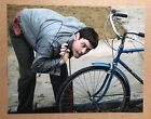 Jim Carrey Signed 11x14 Photo BICYCLE RARE IN PERSON Dumb & Dumber COA