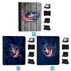 Columbus Blue Jackets Leather Case For iPad 1 2 3 4 Mini Air Pro 9.7 10.5 12.9 $19.99 USD on eBay