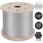 T316 1x19 Stainless Steel Cable Wire Rope 100,200,400,500,1000FT