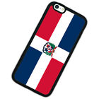 Funda Republica Dominicana Tapa Cover Para iPhone 4S 5 5S 5C SE 6 6S 7 8 Plus X