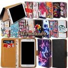Universal Leather Wallet Card Stand Flip Case Cover For Various SmartPhones