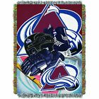 """Avalanche OFFICIAL National Hockey League, """"Home Ice Advantage"""" 48""""x 60"""" Woven T $37.99 USD on eBay"""