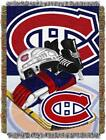"""Canadiens OFFICIAL National Hockey League, """"Home Ice Advantage"""" 48""""x 60"""" Woven T $37.99 USD on eBay"""