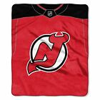 """Devils OFFICIAL National Hockey League, """"Jersey"""" 50""""x 60"""" Raschel Throw  by The $37.99 USD on eBay"""