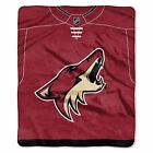 """Coyotes OFFICIAL National Hockey League, """"Jersey"""" 50""""x 60"""" Raschel Throw  by The $37.99 USD on eBay"""