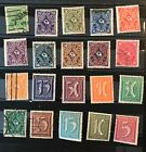 Grrmany postage stamps lot of 16   old.            F