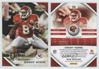 2010 Panini Gridiron Gear Silver Os /250 Jeremy Horne #200 Rookie