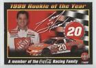 2000 Coca-Cola 7-Eleven #TOST Tony Stewart 1999 Rookie of the Year () Card
