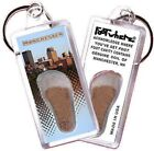 Manchester FootWhere® Souvenir Keychain. Made in USA $5.99 USD on eBay