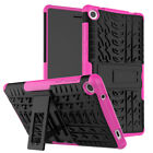 "AHeavy Duty Shockproof Protective Case Cover Stand For  LenovoTab 3 7""/  Tab 4"