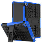 """Heavy Duty Shockproof Protective Case Cover Stand For LenovoTab 3 7"""" Tab 4 730X"""