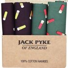 JACK PYKE CARTRIDGE HANKIES X4 PACK COTTON MENS SUIT GIFT SHOOTING HUNTING CLAYOther Hunting Clothing & Accs - 159036