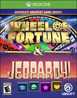 Wheel Fortune Jeopardy Game Greatest Shows America S Xbox one New Games X