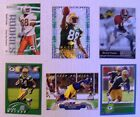 6 - 1993 TO 2014 GREEN BAY PACKER ROOKIE FOOTBALL CARDS